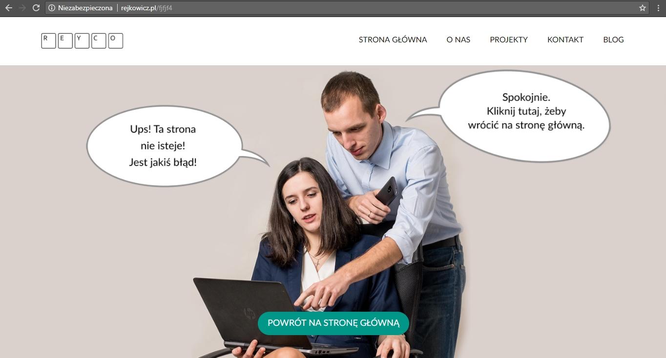 dobra strona 404