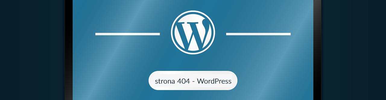 strona 404 w WordPressie